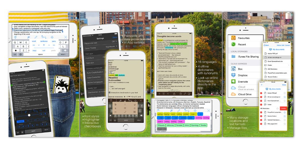 """Free Sale: Textkraft Pocket - billed as """"a professional word processor for mobile use"""""""