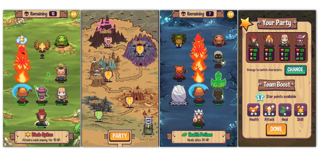 Swap Heroes 2 Review - Its re-focused and much better for it (via @148apps)