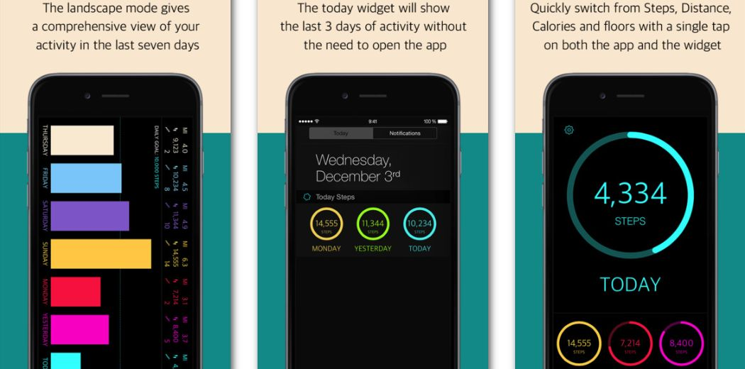 Today Steps looks pretty decent and tracks your daily activity (via @iphoneness)