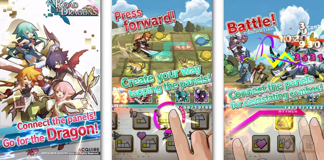 """Japanese Role Playing Game """"Road To Dragons"""" Now Available On The App Store"""