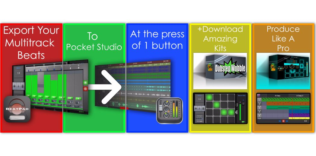 Free Today Only : BeatPad - A complete music production studio in your iPhone/iPad