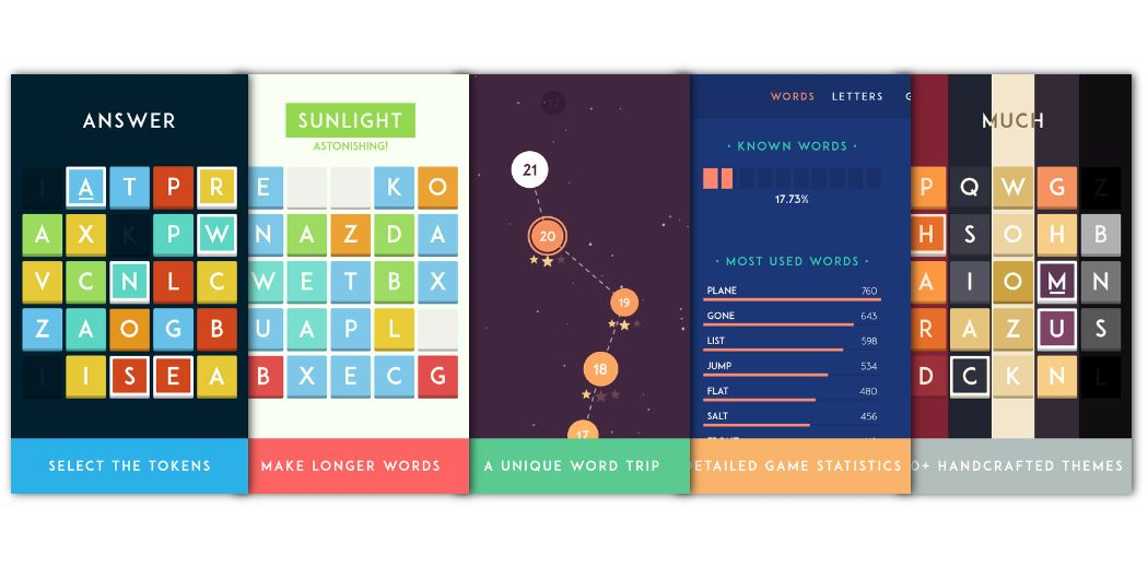 Lettercraft review: a word game crafted with care (via @iDownloadBlog)