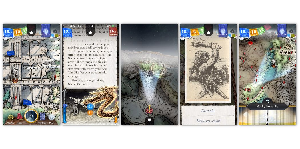 """Sorcery! 3 : """"easily the biggest and most satisfying gamebook ever released on iOS"""""""