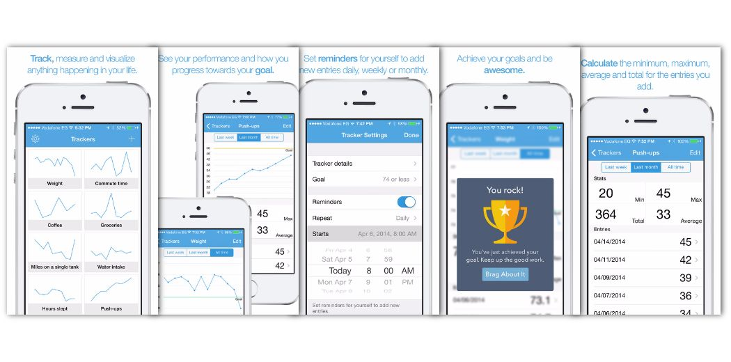 Free Sale: TracKit - (IAP also free) - Track anything with graphs, trophies, more!