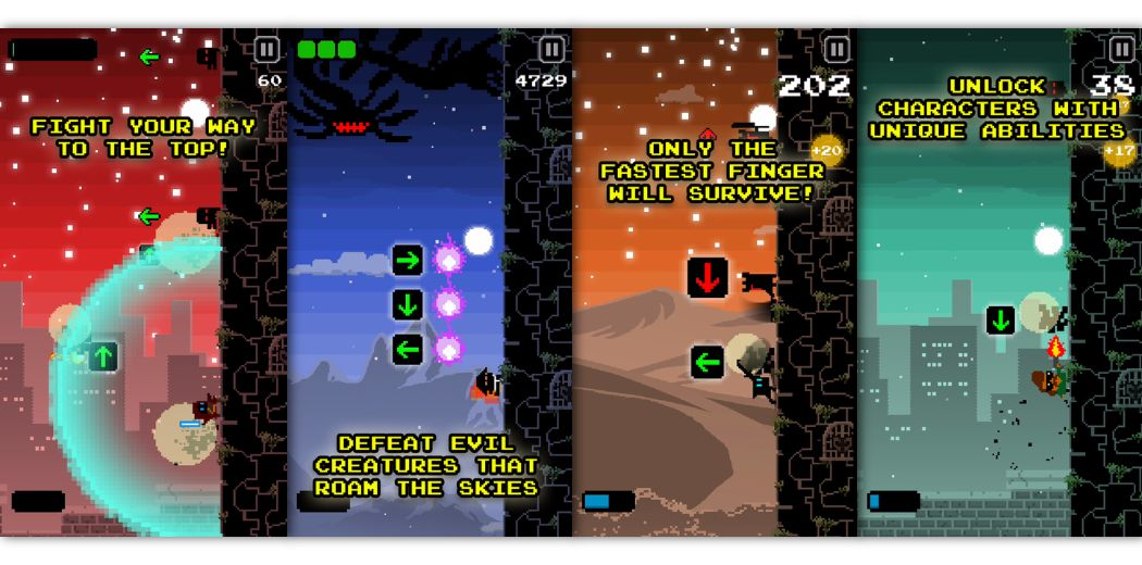 Tower Slash: fast fingers score big in this fast-paced swiping game (via @iDownloadBlog)