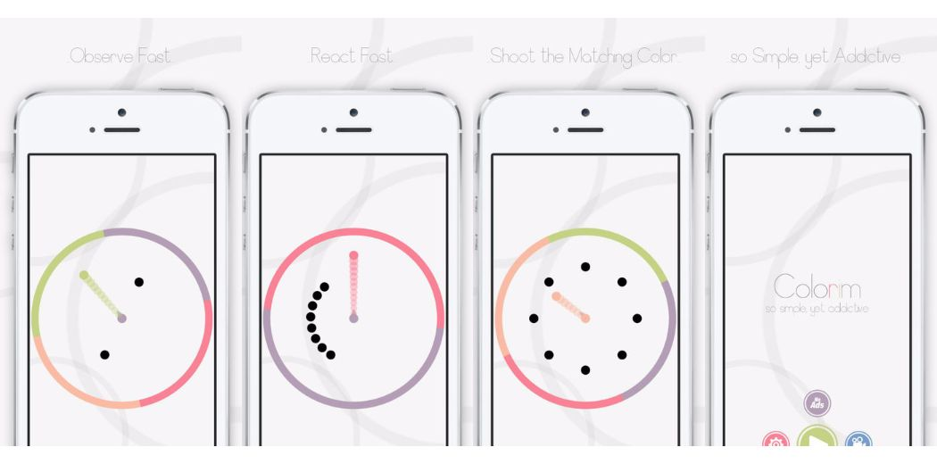 Sometimes the simplest games are the most addictive. Colorim (via @appadvice)