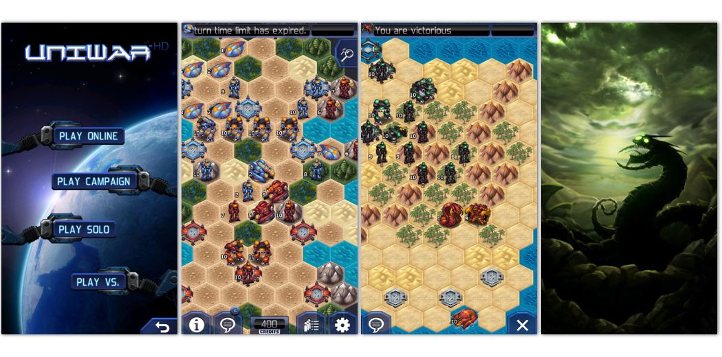 Free Sale: UniWar - A turn-based multi-player strategy war game. Go!