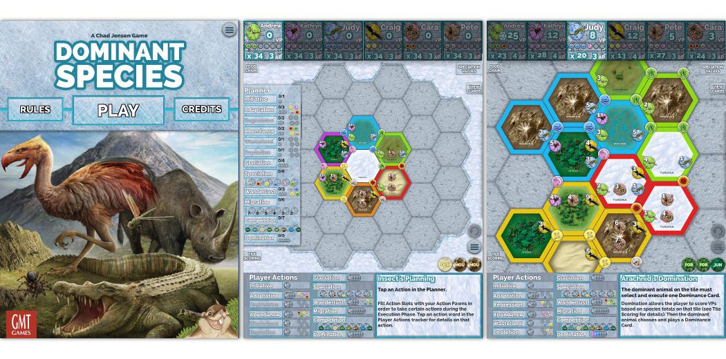 Dominant Species for iPad - a complex strategy board game (via @macnn)
