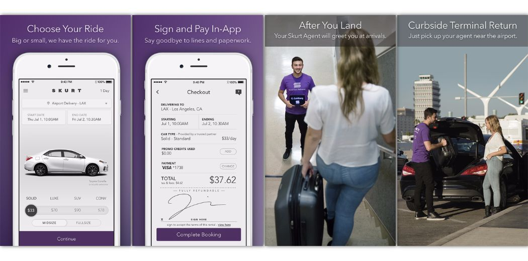 Eliminate the rental car hassle with Skurt (via @appadvice)