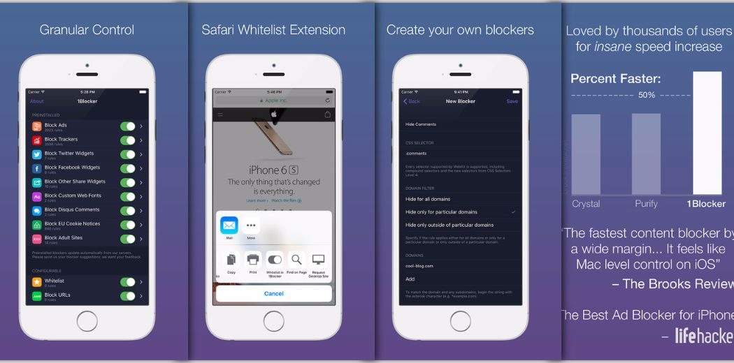 The Best Ad Blocker for iPhone (via @lifehacker)