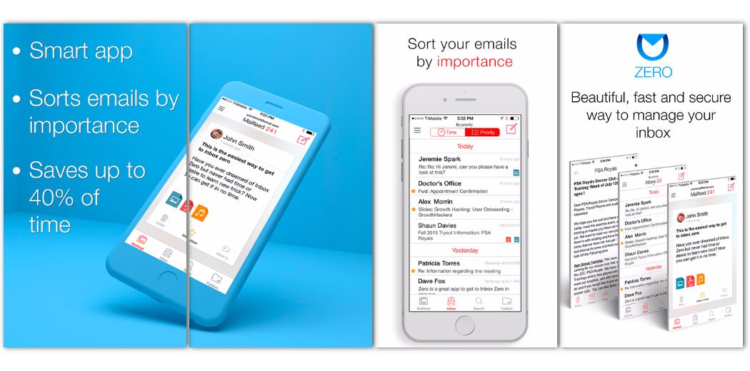 Achieve email nirvana with Zero, an email client for iOS (via @appadvice)