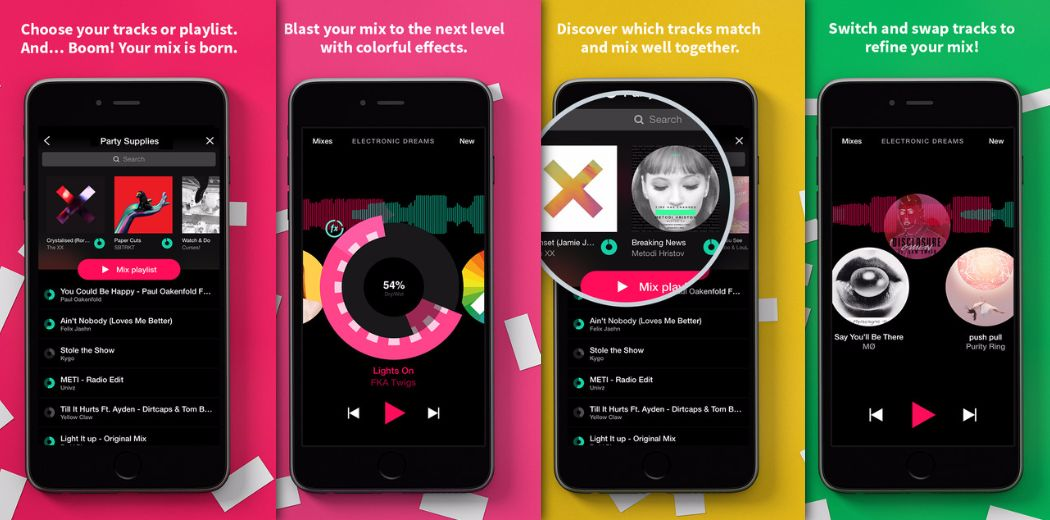 Free Sale: Pacemaker - Create personal mixes and soundtracks (via @appsaga)