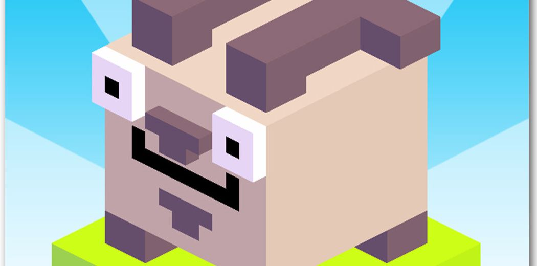 Qbert meets Crossy Road in Totes the Goat (via @appadvice)