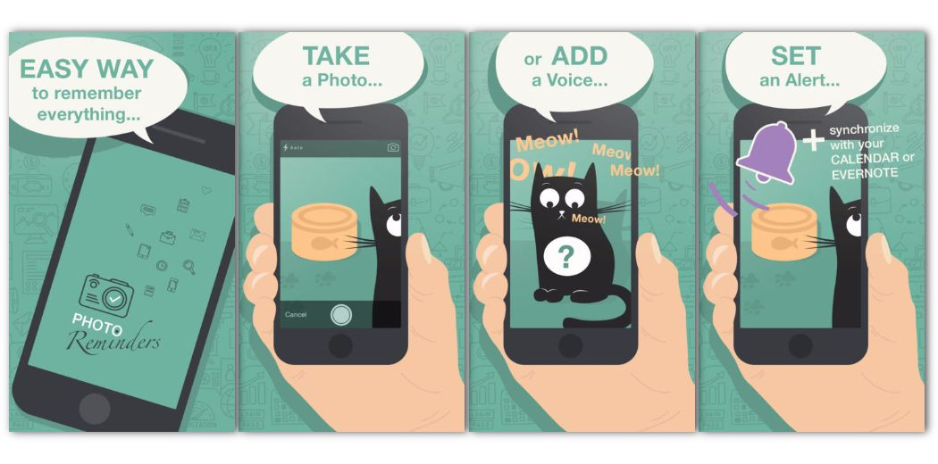 Free Sale: Photo Reminders - Quickly make a visual reminder (less typing, more fun!)