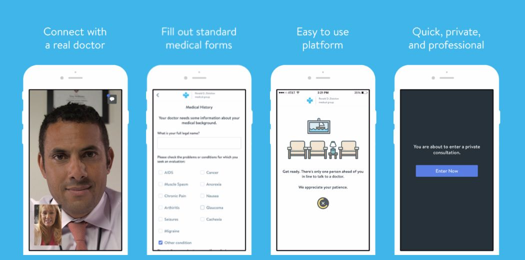 The EazeMD app lets you consult a weed doctor on your phone (via @engadget)
