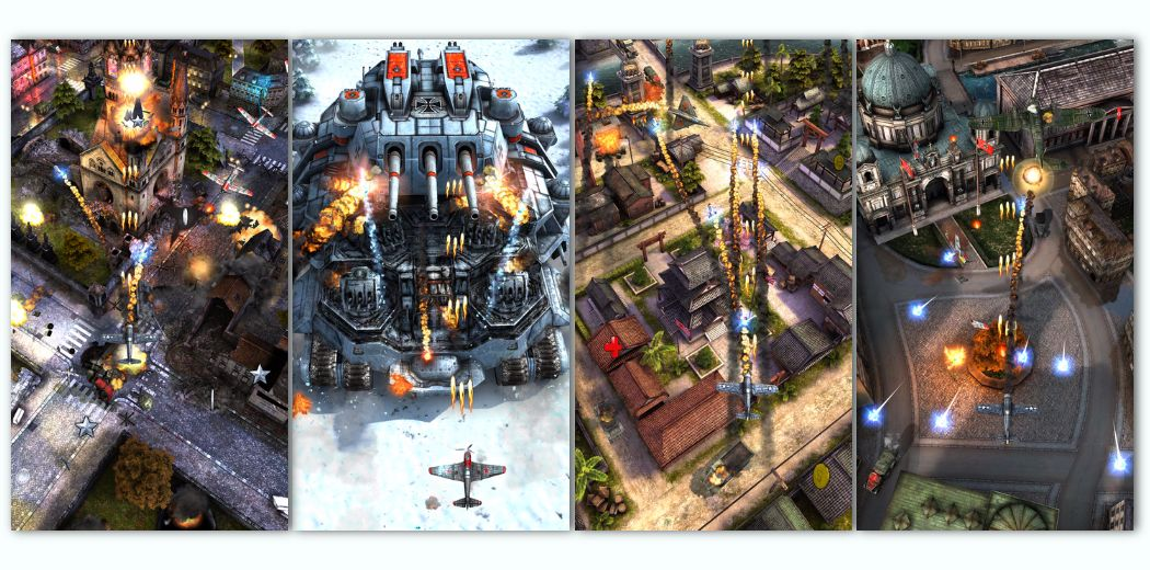 The Insanely Beautiful Shooter 'AirAttack 2' Surprise Release (via @toucharcade)