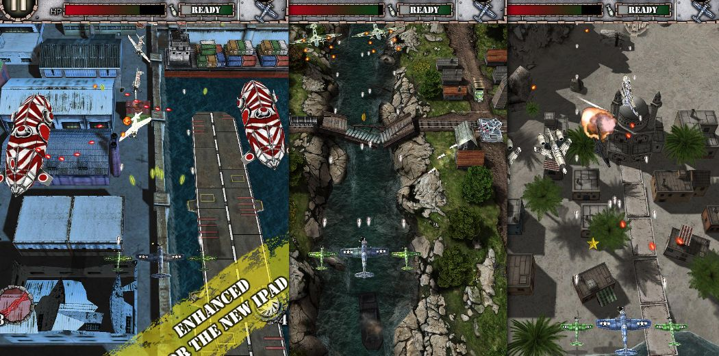 To celebrate AirAttack 2 release, makers are giving away AirAttack HD Free [iPad]