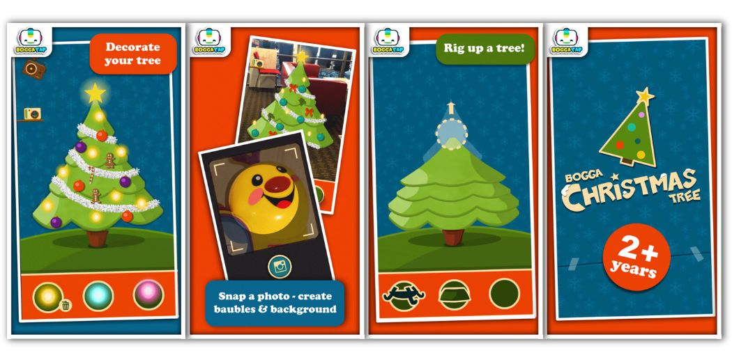 """Free Today : For the littlist ones in your family: """"Bogga Christmas Tree"""""""