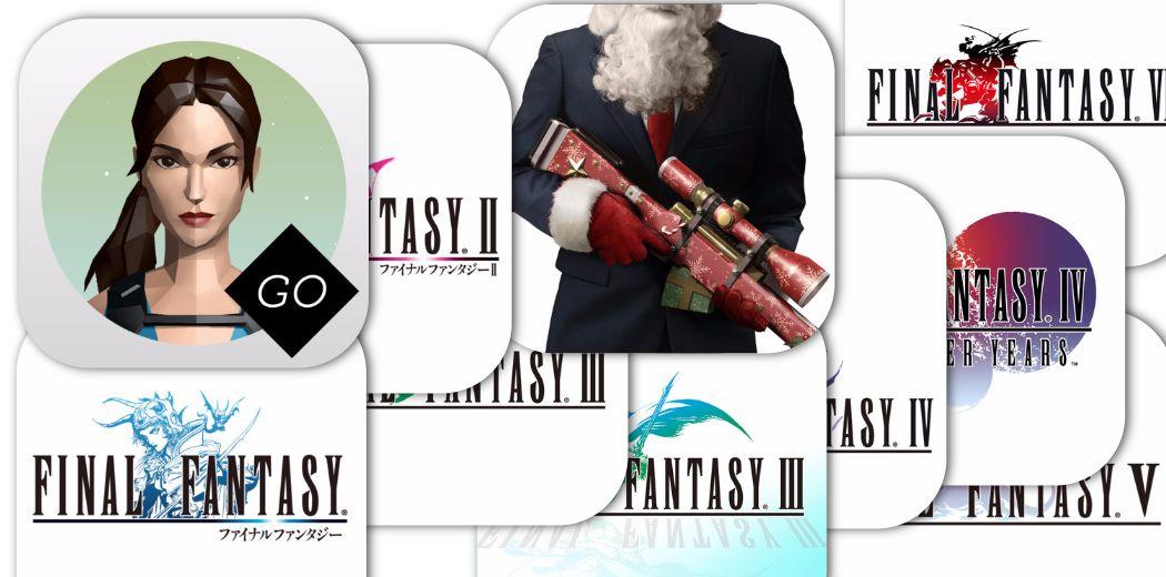 Square Enix iOS Sale: Final Fantasy Series, Lara Croft Go and More  - 50%-80% off!
