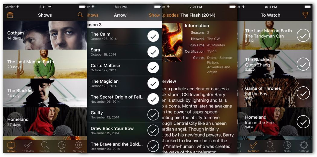 Never miss your favorite shows with Television Time 1.1 (via @appadvice)