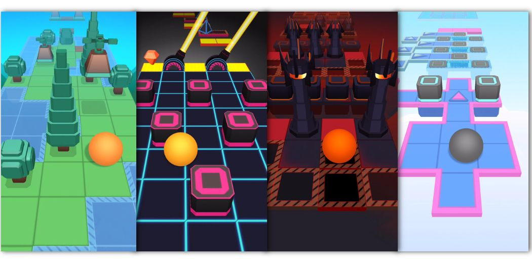 """Rolling Sky: """"well-designed, genuinely challenging, and overall a joy to play."""" via @macnn"""