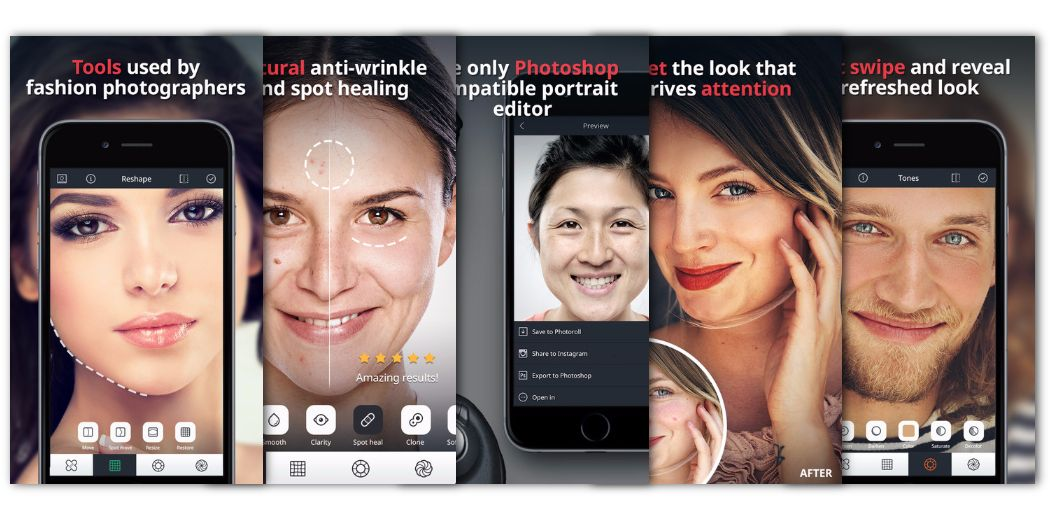"""Free Today : """"Relook"""" - Enhance your photos, remove blemishes, anti-wrinkle, etc."""