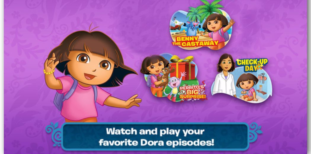 Free Sale: Dora Appisodes HD: Watch full-length episodes of Dora the Explorer (via @appsaga)