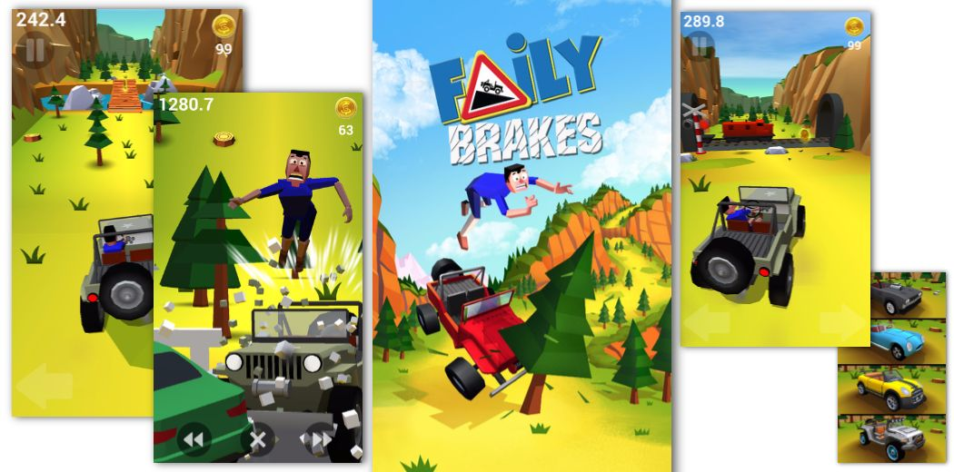 It's time for some barrelling downhill action in Faily Brakes (via @appadvice)