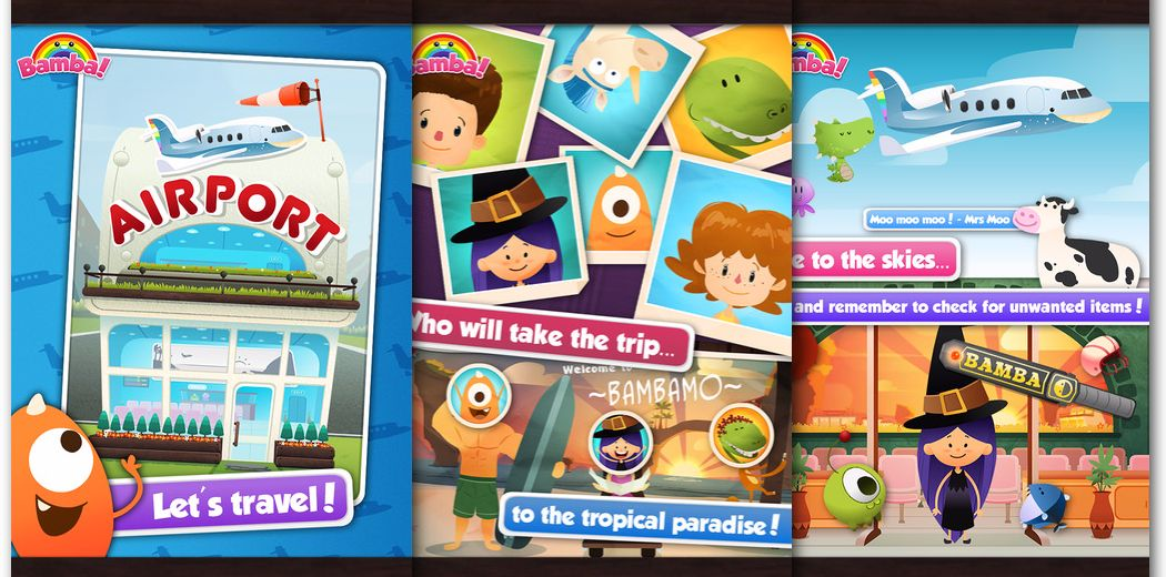 Free Today: Bamba Airport - Let your kids run an Airport!