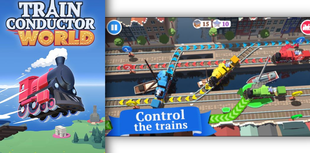 'Train Conductor World' from The Voxel Agents Released