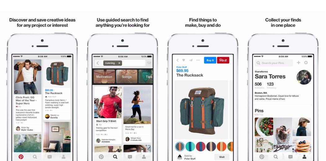 Have you seen Pinterest's new-look iOS app yet? (via @iDownloadBlog)
