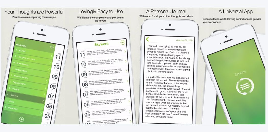 Free Sale: Zentries - The Art of Journaling