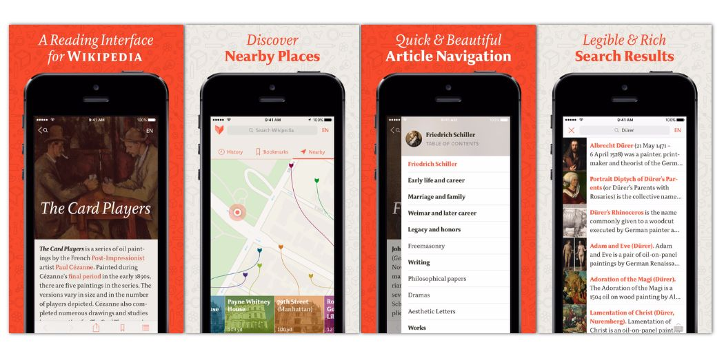 """Enjoy good typography? Try """"Viki · A Nice Reader for Wikipedia"""" (via @iphoneness)"""