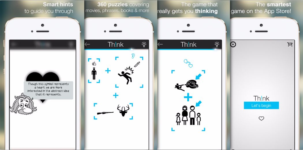 Free Sale: Think - A minimalistic, beautifully designed visual puzzle game
