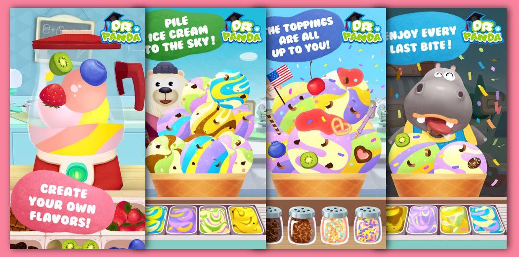 FREE Sale - Dr. Panda's Ice Cream Truck : Chocolate? Vanilla? Strawberry?